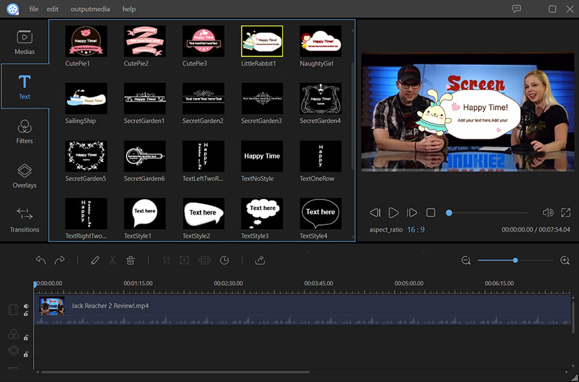 Apowersoft Video Editor
